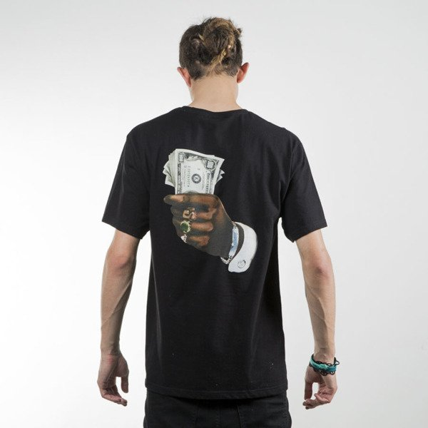 Stussy koszulka t-shirt Bills black SU16