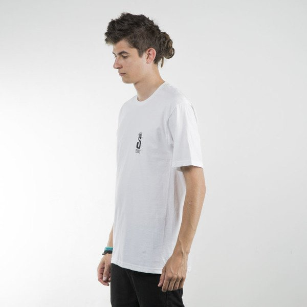 Stussy koszulka t-shirt Bills white SU16