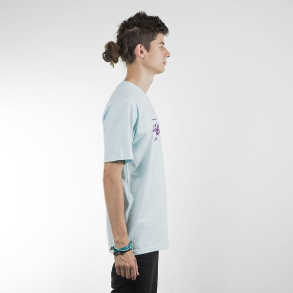 Stussy koszulka t-shirt Stock light blue SU16