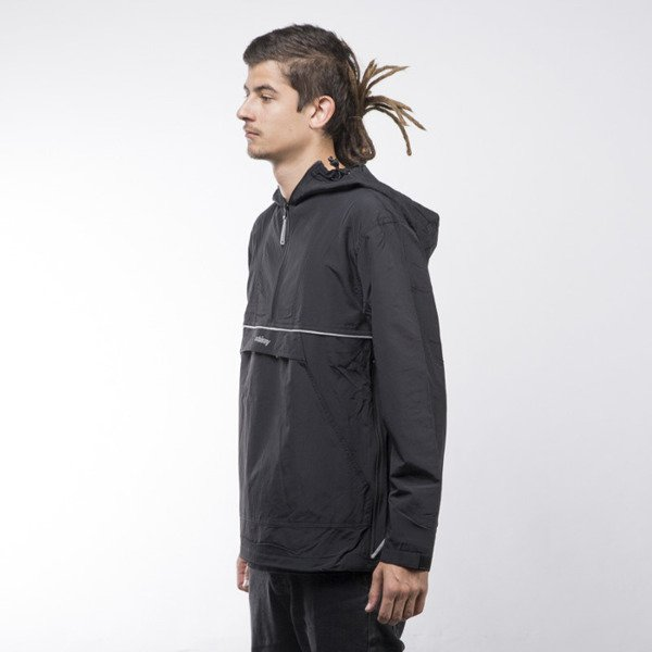 Stussy kurtka Reflective Sports Pullover black