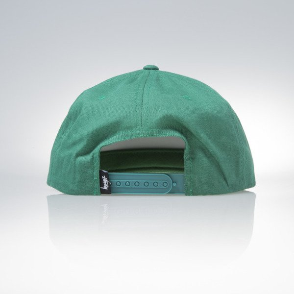 Stussy snapback cap czapka World Tour green