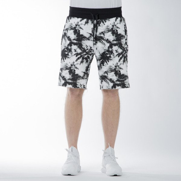 Szorty Cayler & Sons BL Vice Versa Cut Off Sweat Shorts black / white (BL-CAY-SS16-AP-35)