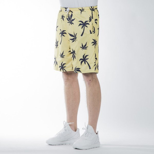 Szorty Cayler & Sons GL Beach Budz Reversible Mesh Shorts navy / white // pale yellow / navy (GL-CAY-SS16-AP-33-01)