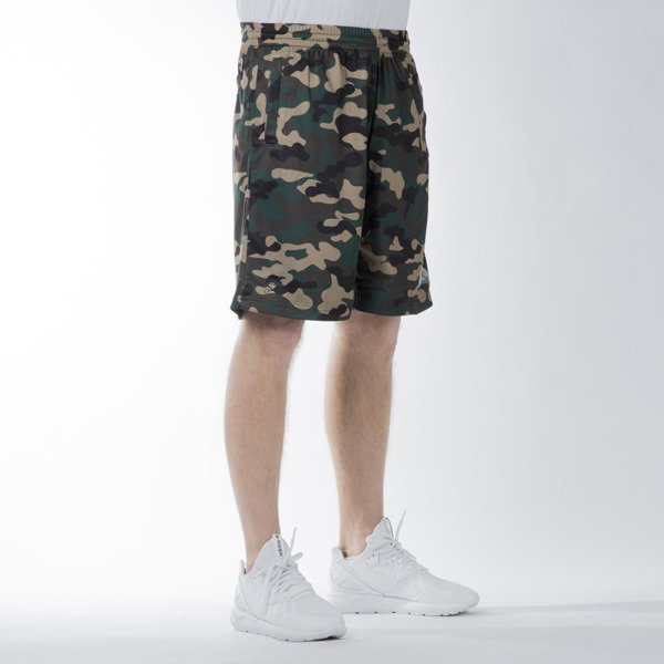 Szorty Cayler & Sons WL BKNY Mesh Shorts woodland / mc (WL-CAY-SS16-AP-43)