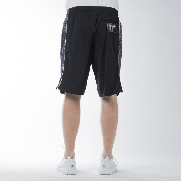 Szorty Cayler & Sons WL Crimes Bball Shorts black / white (WL-CAY-SS16-AP-41)