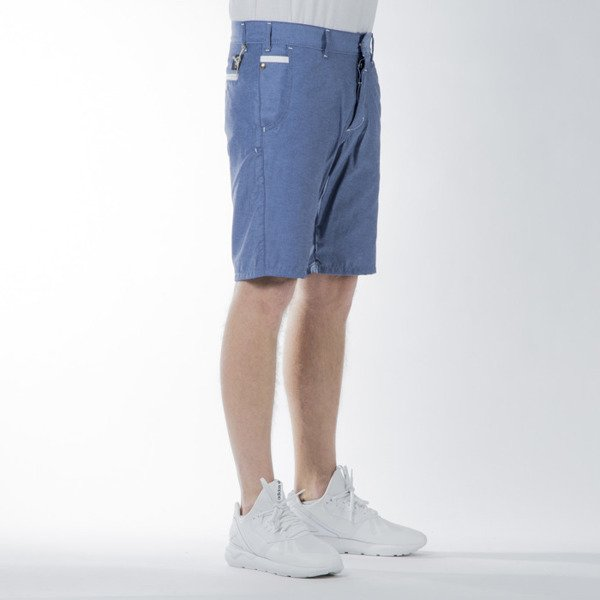 Szorty Turbokolor Chino Shorts blue SS16