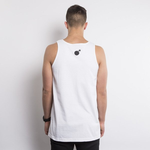 The Hundreds koszulka tank top Geo Square Adam white