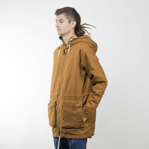 Turbokolor kurtka zimowa Parka Duck canvas / quilted