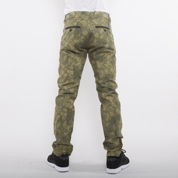 Turbokolor spodnie Chinos Slim Fit rain camo FW14