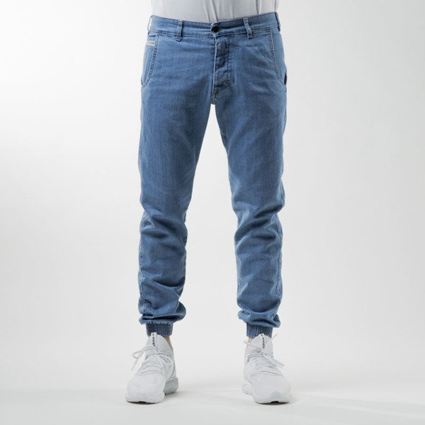 Turbokolor spodnie Trainer Chinos Slim Denim light blue