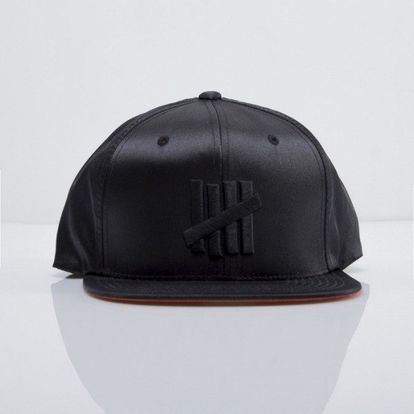 Undefeated czapka snapback Flight Jacket black