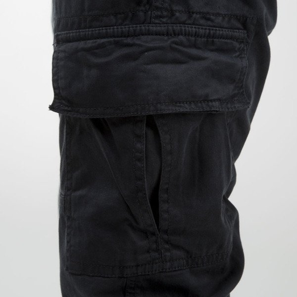 Urban Classics spodnie Washed Cargo Twill Jogging Pants black TB1435