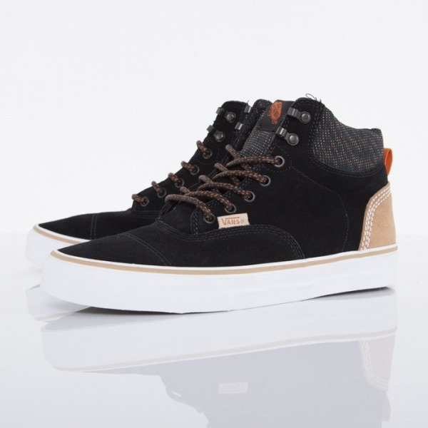 Vans buty Era Hi CA suede multi black / orange (UC7DYP)