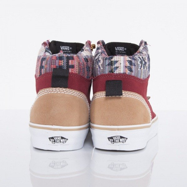 Vans buty Era Hi CA suede multi black / orange (UC7DZ6)