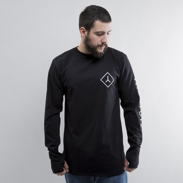 We Peace It koszulka Long Sleeve long black