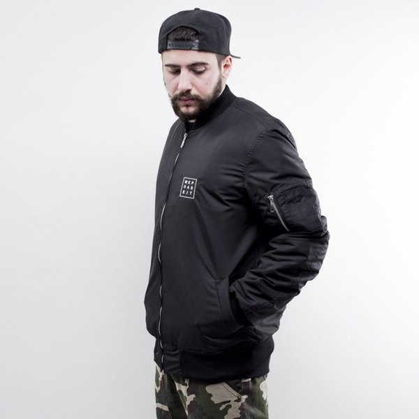 We Peace It kurtka  Bomber Jacket black
