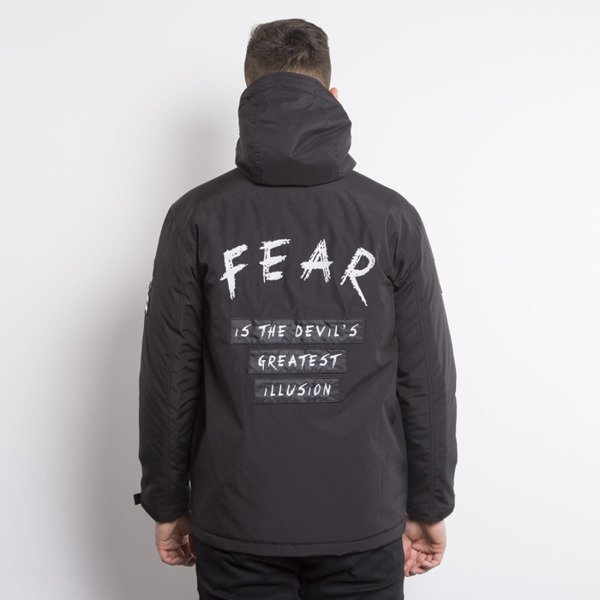 We Peace It kurtka  Fear 2 Jacket Parka black