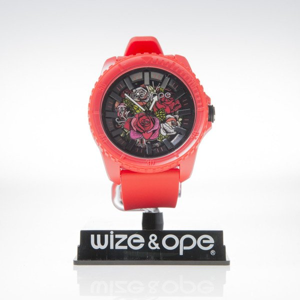 Zegarek Wize & Ope CR-6 Crunch red