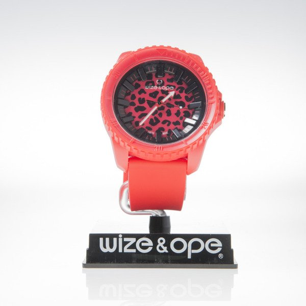 Zegarek Wize & Ope CR-LEO-3 Crunch red2