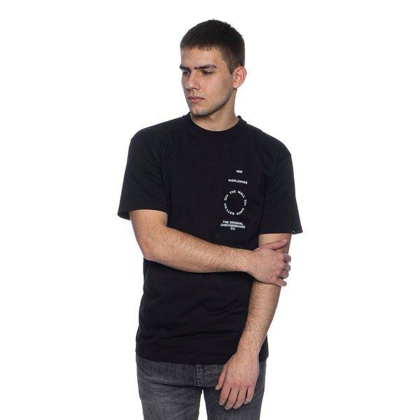 Koszulka Vans Distortion Type SS Tee czarna