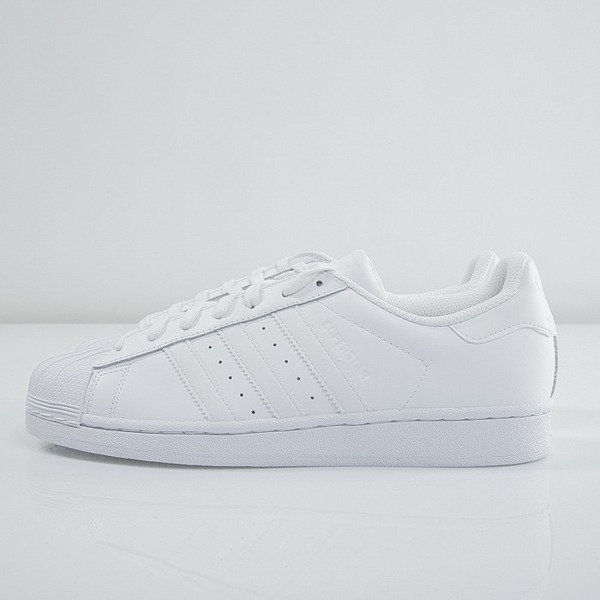 new arrival 3f1ea 8687f Sneakers Adidas Superstar Foundation white   white B27136   Bludshop.com