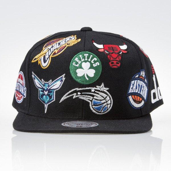the best attitude 637e2 3c1b5 Mitchell   Ness cap snapback NBA Eastern black ALL OVER EU879   Bludshop.com