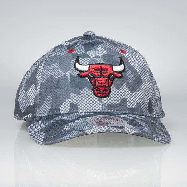 Cap Mitchell   Ness flexfit slouch Chicago Bulls grey Carbon Camo ... 570fb8d77f9d