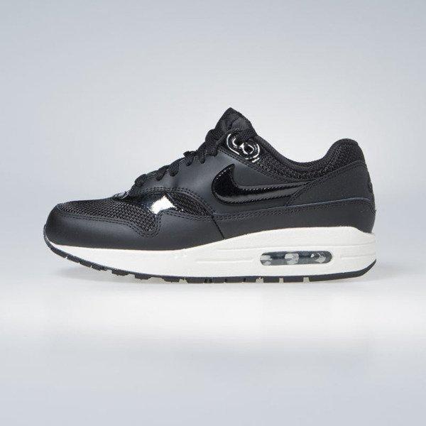 newest 4e66b b9397 Sneakers buty damskie Nike WMNS Air Max 1 black   black-black-summit white  (319986-039)   Bludshop.com