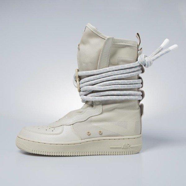 d0c8b67b6dce52 Sneakers buty zimowe damskie Nike SF AF1 High rathan / rathan - white  AA3965-200 | Bludshop.com