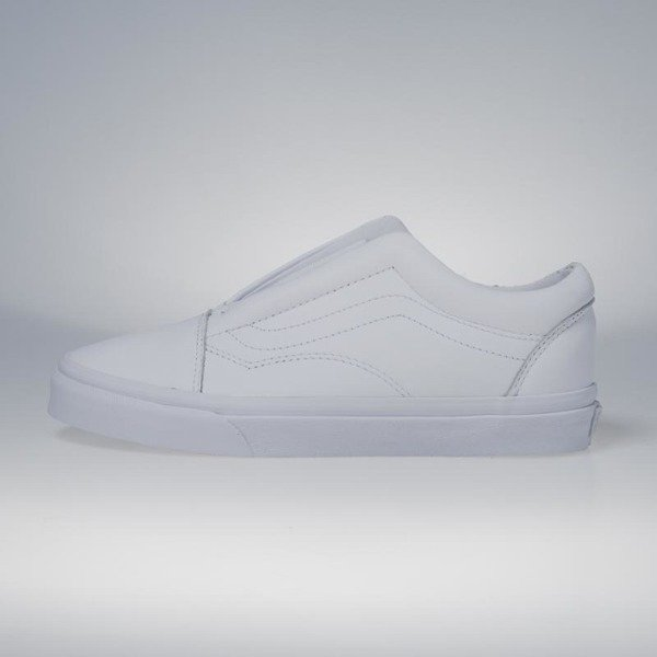 16bf7ff6d84217 Vans Old Skool Laceless (Leather) true white VN0A3DPCL3H