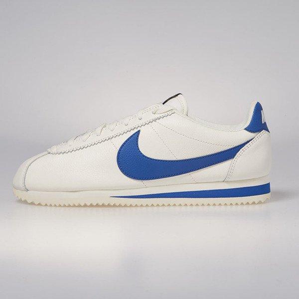 hot sale online 5e001 09221 Nike Classic Cortez Leather SE sail  blue jay 861535-102  Bl