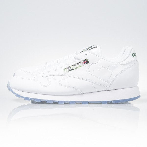 beaadc28644 ... Sneakers buty Reebok Classic Leather White   Ice (V67855) ...