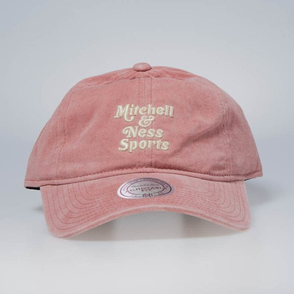 wholesale dealer ebdde b11c1 Mitchell   Ness strapback Own Brand pink Blast Wash Slouch   Bludshop.com