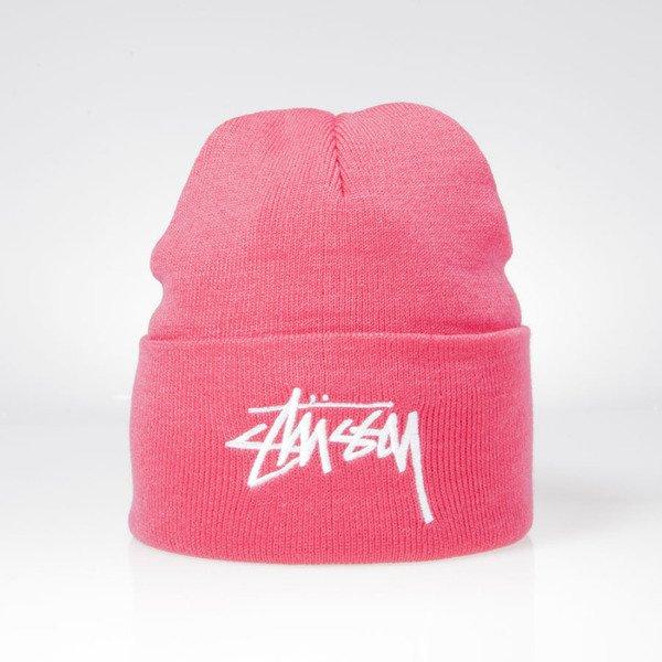 b781c45f1 Stussy winter beanie Stock Cuff Beanie pink