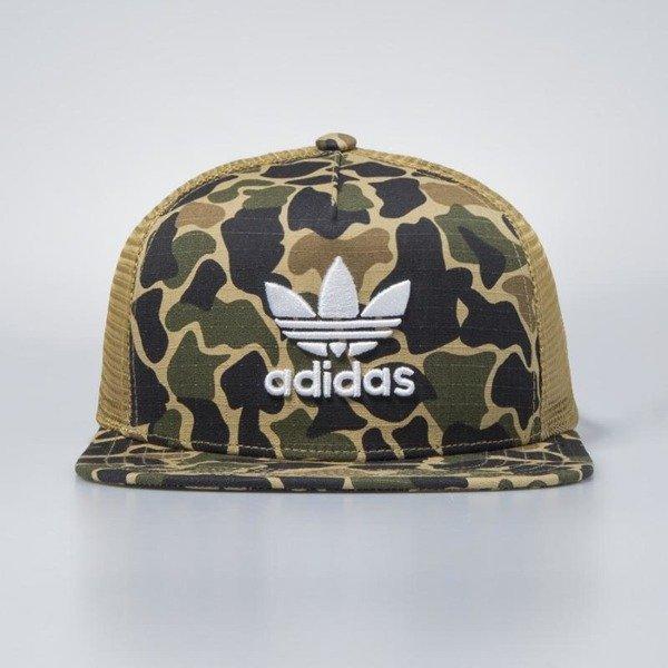 54736749ddd ... Adidas Originals snapback Trucker Cap Camouflage dark sahara CE4869 ...