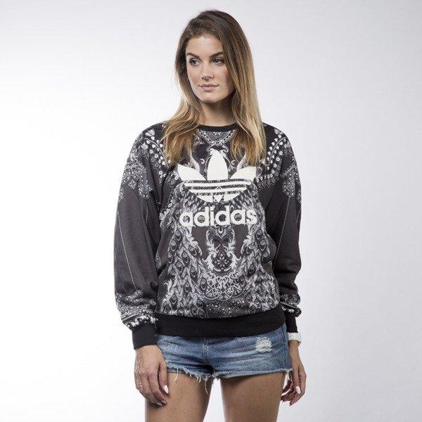 Adidas Originals sweatshirt Pavao crewneck black (AY6873)