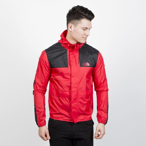 The North Face 1985 Mountain Jacket Red Black Bludshop Com