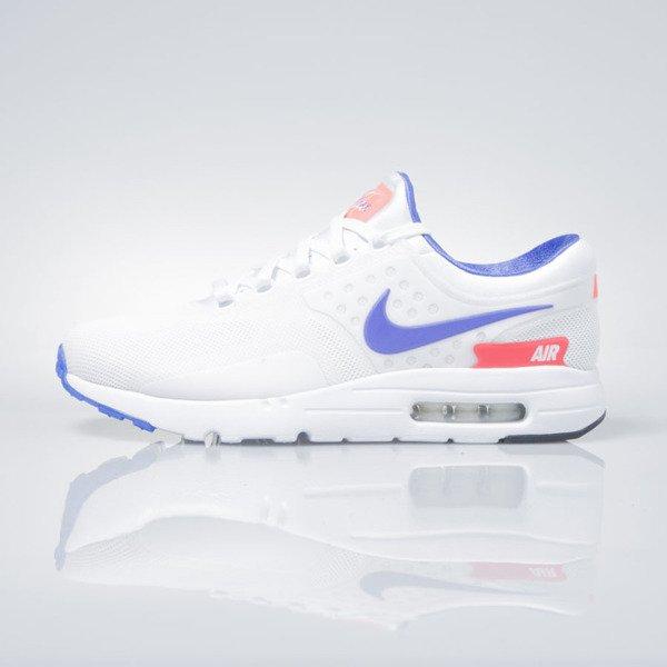 Nike Air Max Zero Qs white ultramarine solar red 789695 105