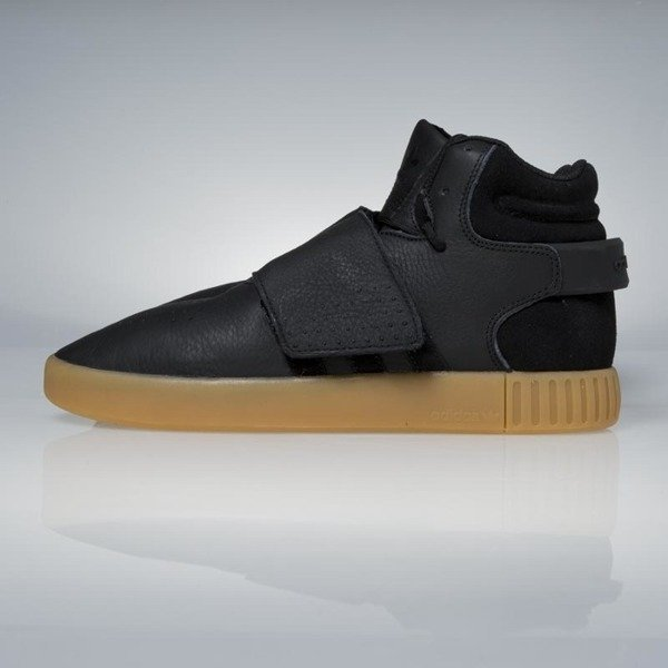 best loved 9bc08 92027 ... Sneakers Adidas Originals Tubular Invader Strap core black / gum /  footwear white BY3630 ...