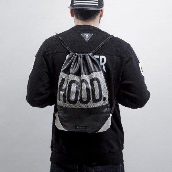 Cayler   Sons Black Label gym bag Hood Love black white (BL-CAY-SS15-GB-02)   13e089063e4