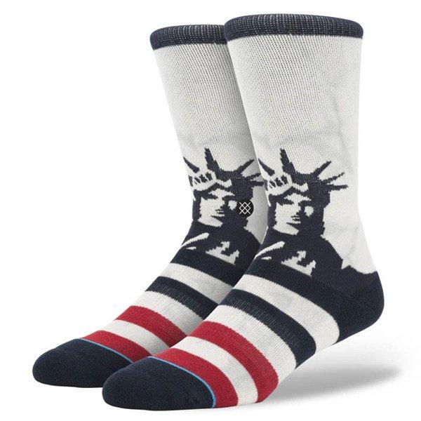 Stance Socks Lady Liberty White M311d15lad Bludshop Com