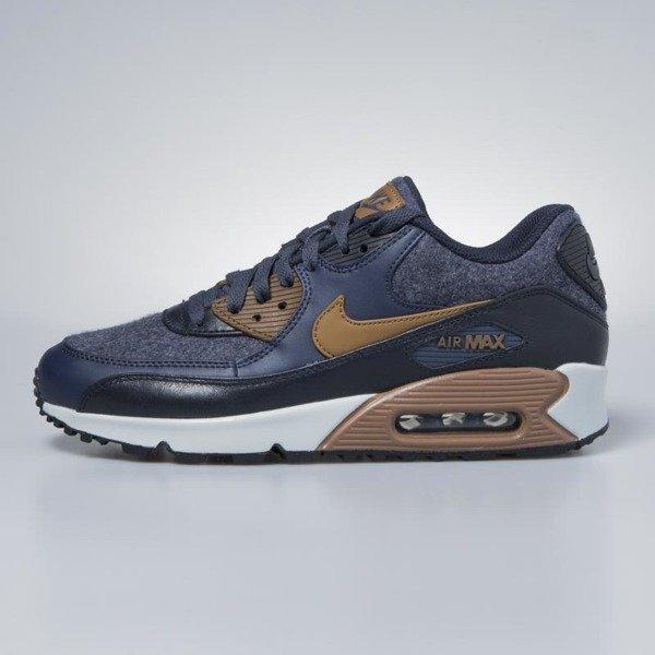 Nike Air Max 90 Premium Athletic Sneakers (700155 404) Blue