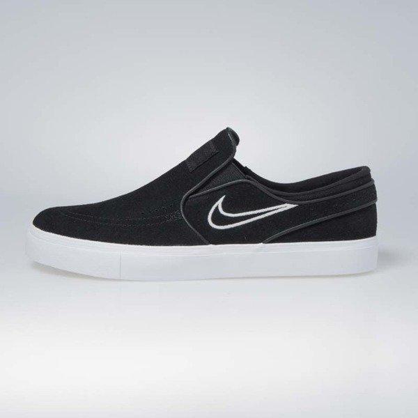 new concept e222c 39f56 ... Nike SB Zoom Stefan Janoski Slip black   light bone - white 833564-004  ...