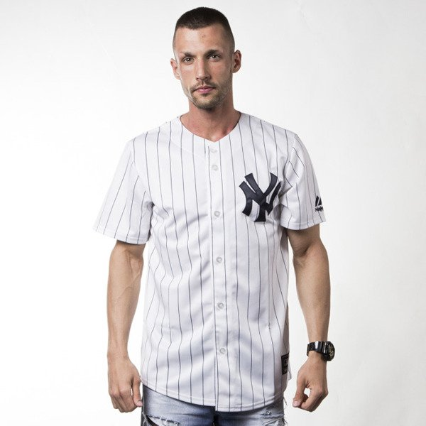 Majestic Athletic T-shirt Jersey MLB New York Yankees Replica white  (MC7YANHWA00)  18f22860df3