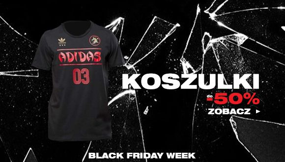 Black Friday week - Koszulki do -50%