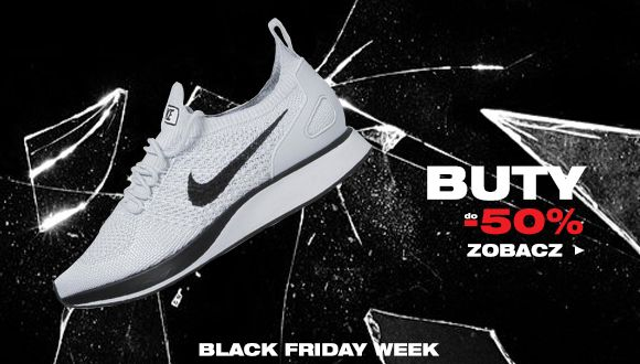 Black Friday week - Buty do -50%