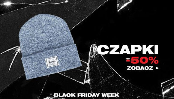Black Friday week - Czapki do -50%