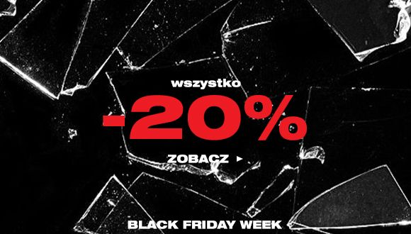 Black Friday week - Wszystko do -20%