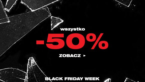 Black Friday week - Wszystko do -50%