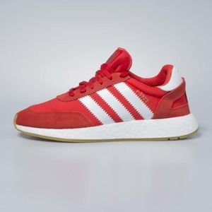 Adidas Originals Iniki Runners red / footwear white / gum BB2091